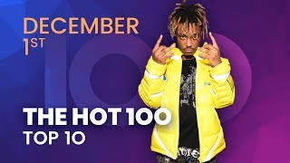Early Release! Billboard Hot 100 Top 10 December 1st, 2018 Countdown | Official