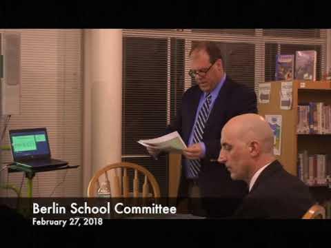 Berlin School Committee 02.27.18