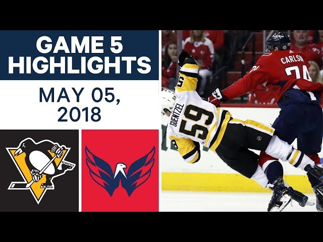 2507d480b06 Jakub Vrana scored the go-ahead goal late in the third period to help the Washington  Capitals win Game 5 and push the Pittsburgh Penguins to the brink of ...