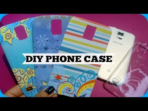 DIY Phone Case using Art Papers!✿✿ (for Android Phones / S5)