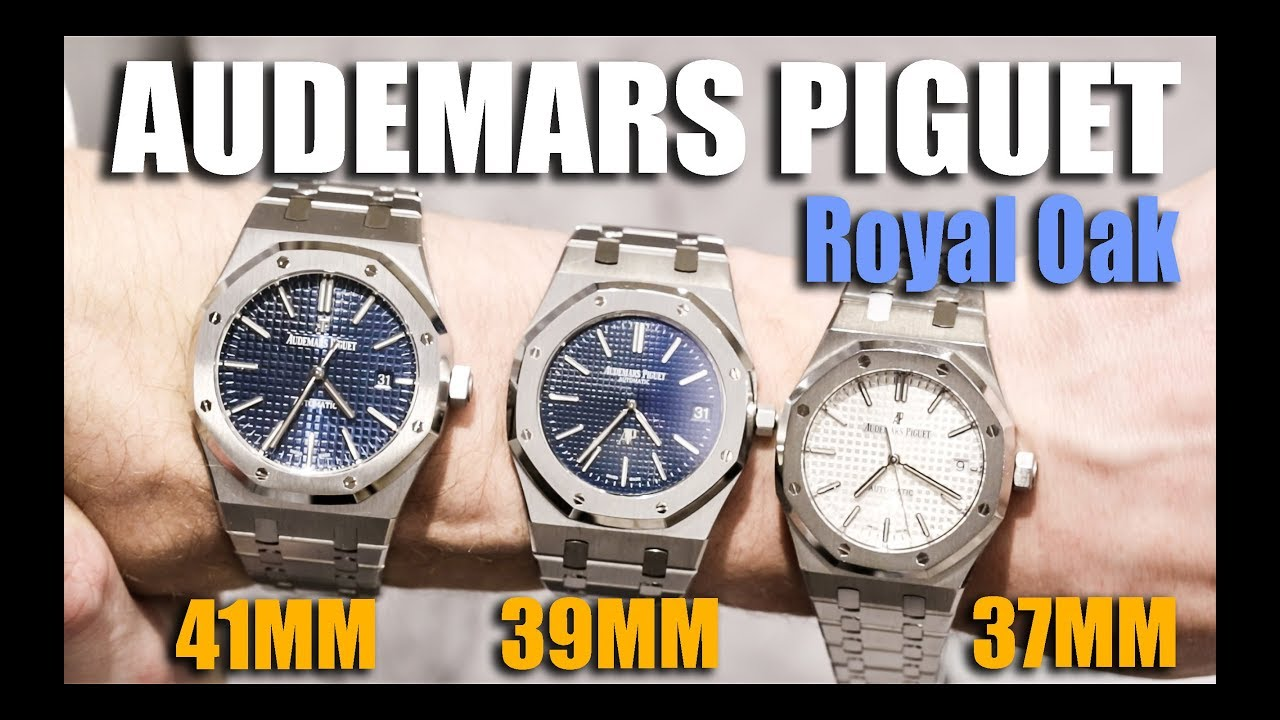 Audemars Piguet Royal Oak 37mm Vs 39mm 41mm