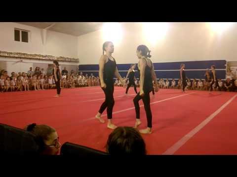 Flash Mob des GAF de la vaillante Langon gymnastique 2017