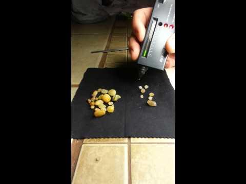 Indiana Raw Diamond Testing And Description