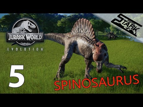 Jurassic World Evolution - 5.Rész (Spinosaurus és az 5.Sziget) - Stark LIVE