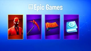 Fortnite Inferno Skin Pack Date de sortie.