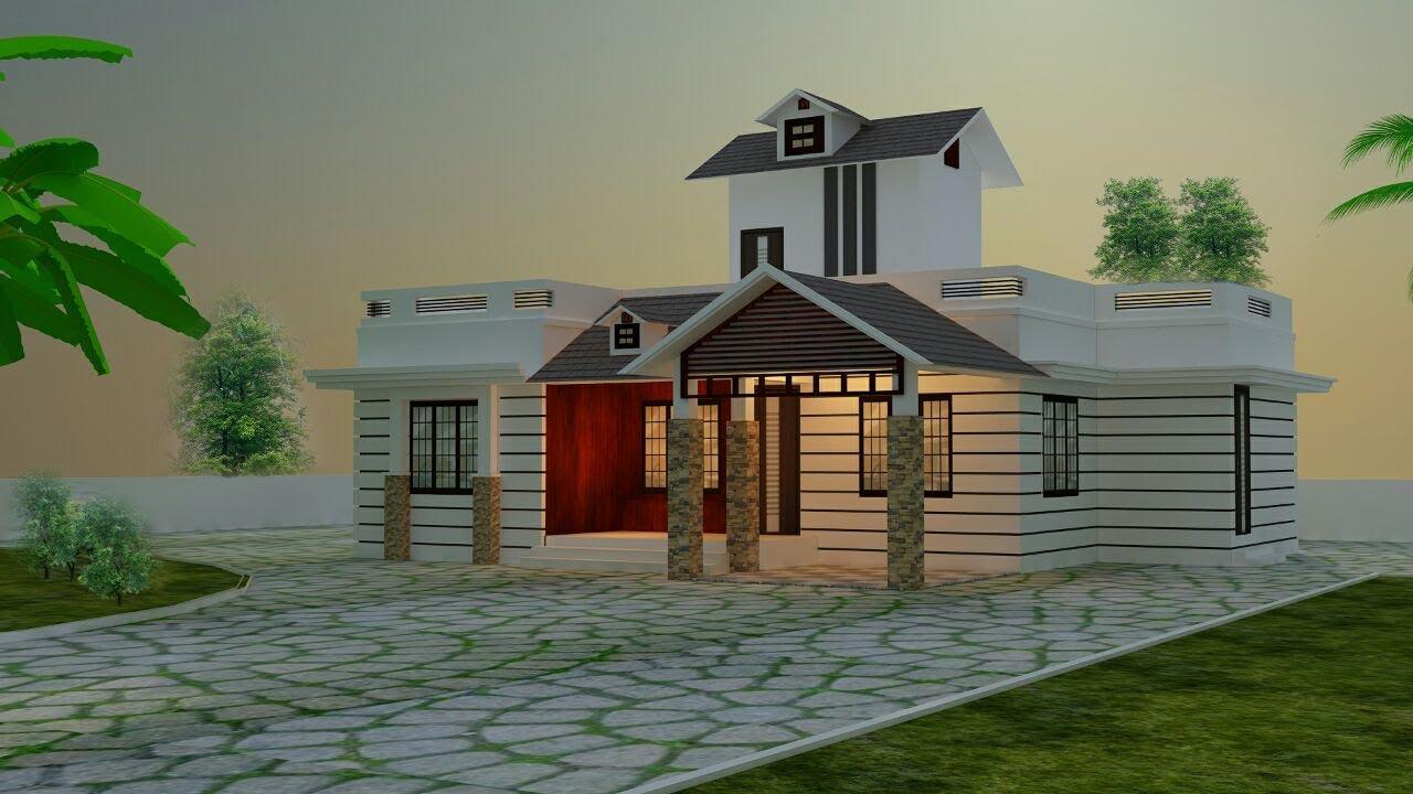 single floor homes design - YouTube