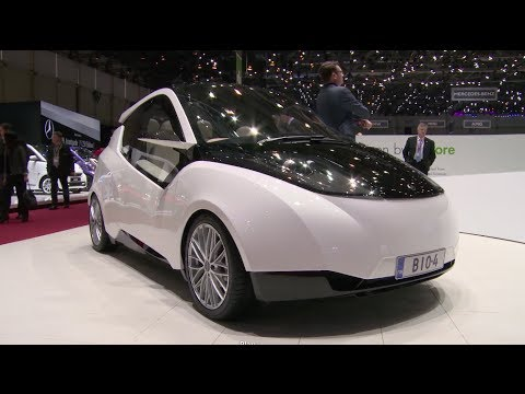 Metropolia University Biofore Concept at Geneva Auto Show 2014