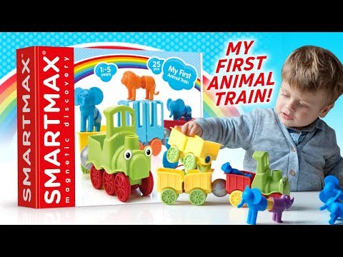 ALL ABOARD THE SMARTMAX MY FIRST ANIMAL TRAIN! | A Toy Insider Play by Play
