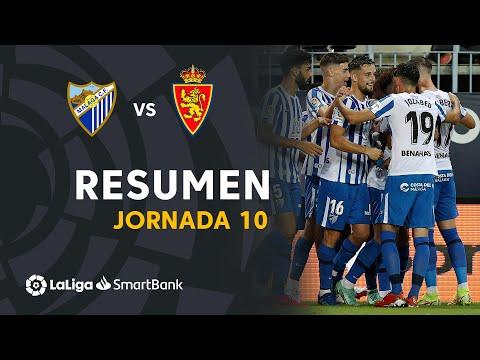 Malaga Zaragoza Goals And Highlights