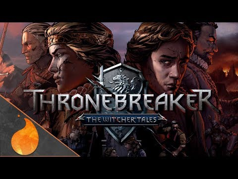 Thronebreaker! The Gwent/Witcher Card game Storymode highlights! #ad thumbnail