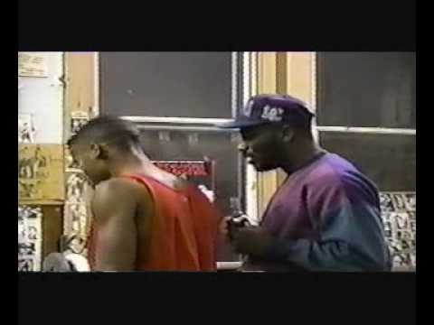 Uncle Jr_Filming: Michael L Anderson JR's Boxing Match '94 ((Warming Up!!))