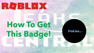 """[ENDED] ROBLOX Leaks Central! - How to get the """"70k Start"""" Badge!"""
