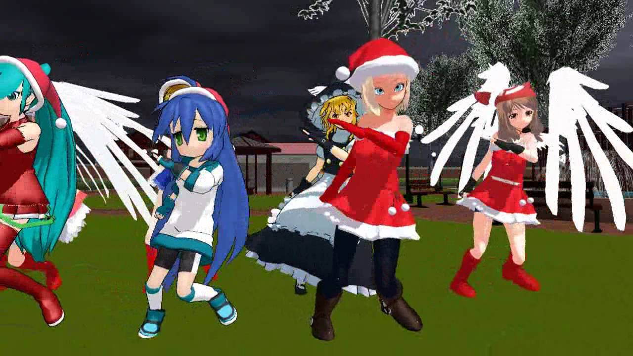 Anime Girls - Love & Joy Dance Christmas - YouTube