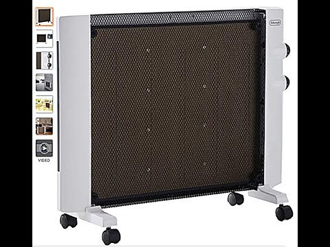 DeLonghi, Micathermic Flat Panel Heater Review And Test