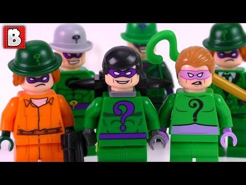 Every LEGO Riddler Ever Made!!! | LEGO Batman Collection Review