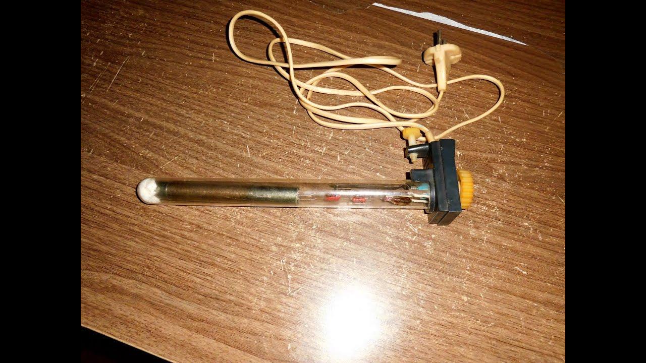 Терморегулятор для аквариума своими руками