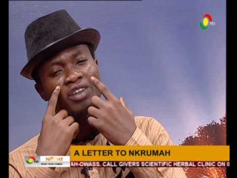 NewDay  - Kombila  Spoken word - A letter to Nkrumah  - 25/5/2016