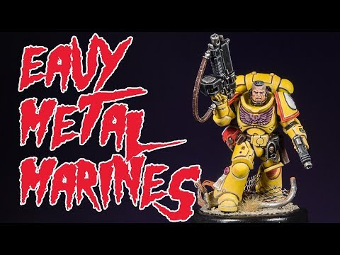 'Eavy Metal Marines: Imperial Fists