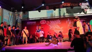 BOTY Thailand 2012 - Semi Final - Power Storm Crew Vs One Piece UD Town | Fresh Break [HD]
