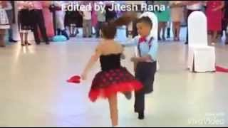 Awesome salsa and tap dance mix at party by Kids.