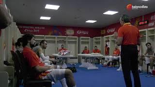WC2019: Charla previa de Sergio Scariolo en el España vs Serbia