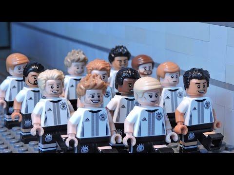 LEGO UEFA EURO 2016 - Day of Champions  - Brick Film -Die Mannschaft German Football Team!