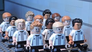 LEGO UEFA EURO 2016 - Day of Champions  - Brick Film -Die Mannschaft German Football Team!