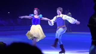 ディズニーオンアイスの白雪姫のスケートシーンです。Someday My Prince...