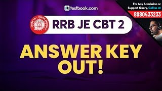 RRB JE CBT 2 Answer Key 2019 Out! | How to Download RRB JE Answer Key | Railway JE CBT 2 Result