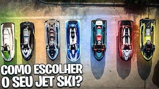 Como escolher o seu Jet Ski? Quais modelos existem?