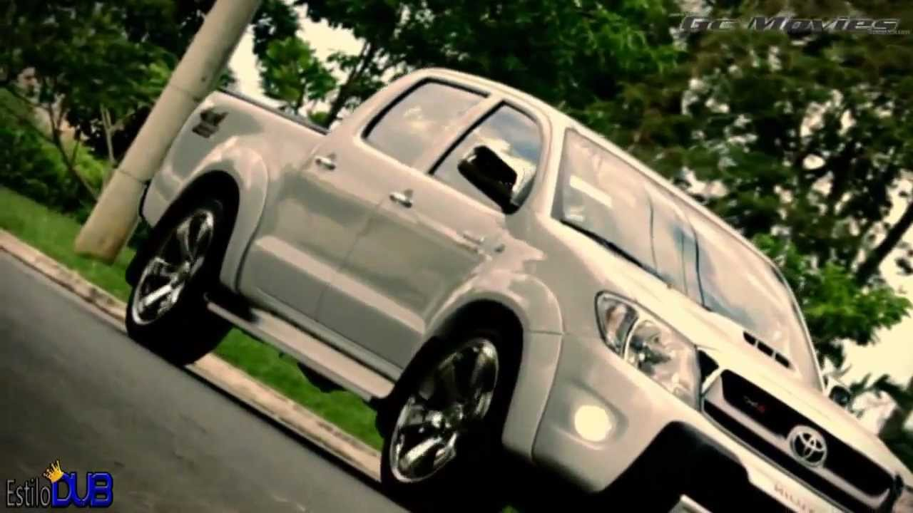 "All Toyota Vehicles >> [Glamour Cars] Toyota Hilux - Llantas 22"" DUB Style - YouTube"