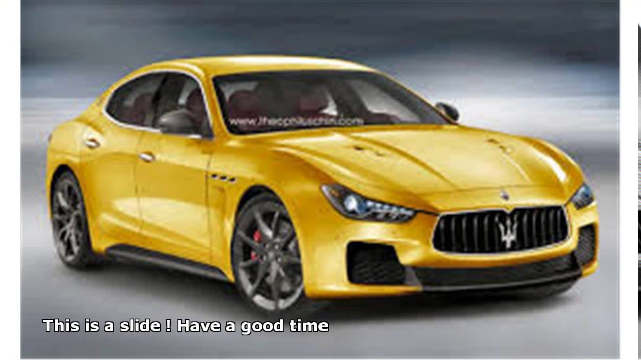 maserati granturismo 4 door - YouTube