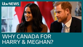 Download Why do Meghan and Harry want to start a new life in Canada? | ITV News Mp3 and Videos