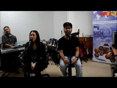 PASTO feat MAIA Live Performance AKU PASTI KEMBALI at Voice of Indonesia RRI