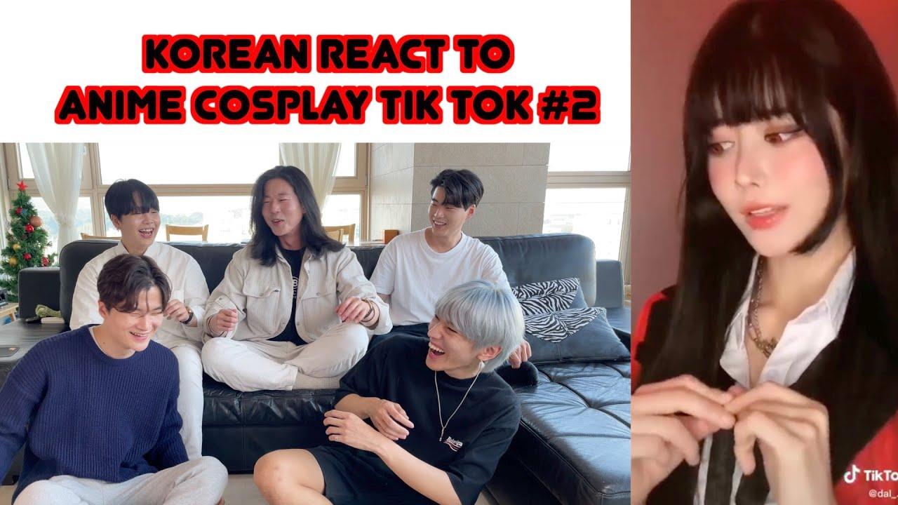 KOREAN REACT TO Anime Cosplay TikTok Compilation