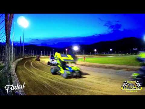900HP Mean machines!, Central Motor Speedway in Cromwell New Zealand, Feature race last race of the night on the 11/01/20. - dirt track racing video image