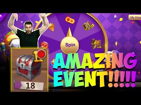 JT's F2P New Event Coupon Spinner DONT MISS OUT Castle Clash