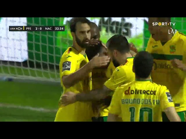 Goal | Golo Luther: Paços de Ferreira (2)-0 CD Nacional (Liga 20/21 #22)