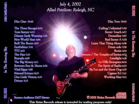 RUSH - In The Evening Sky - Vapor Trails Tour 2002 (full)