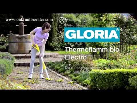 gloria elektrische onkruidbrander thermoflamm bio electro youtube. Black Bedroom Furniture Sets. Home Design Ideas