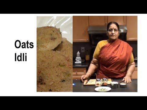 Oats Idli recipe in Tamil
