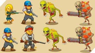 ЛЮДИ против ЗОМБИ - Human vs Zombies: a zombie defense game. Зомби апокалипсис