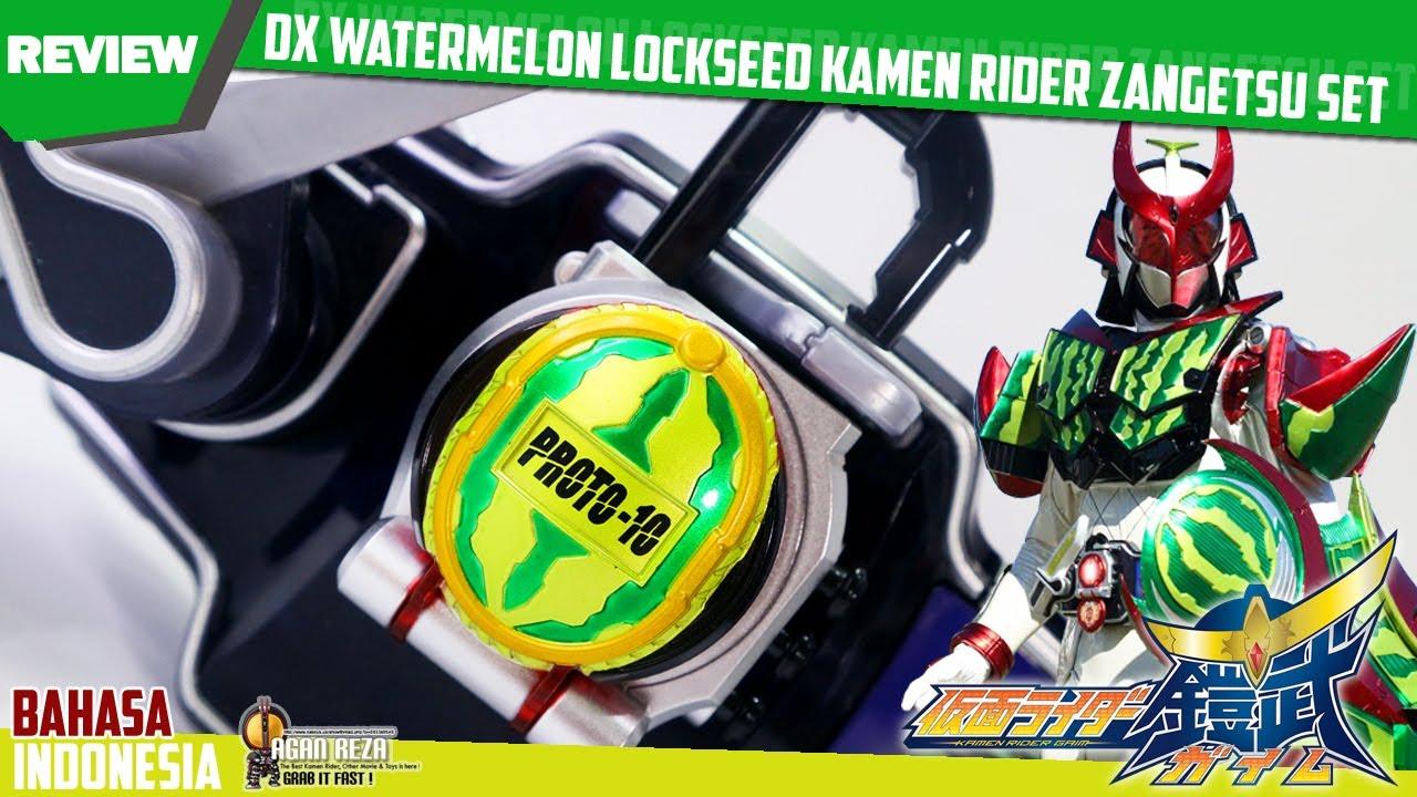 REVIEW - DX WATERMELON LOCKSEED KAMEN RIDER ZANGETSU SET | DXウォーターメロンロックシード [Kamen Rider Gaim] 🍉