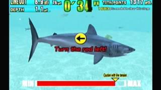 GREAT WHITE SEGA MARINE FISHING