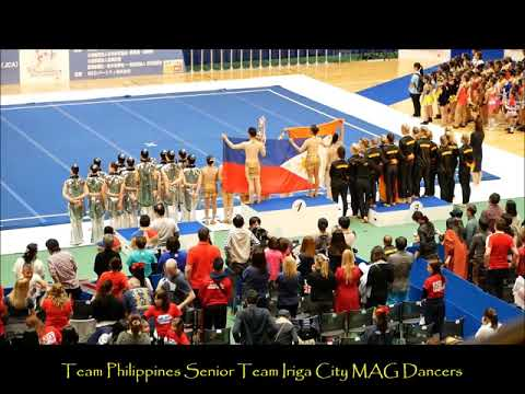 2017 9th CWC Team Philippines Team Iriga City   MAG Dancers   Cheer Dance Senior   Gold Medal Awardi