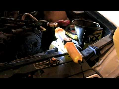 Subaru Coolant Antifreeze Change & How To Bleed The Air Out Of The System