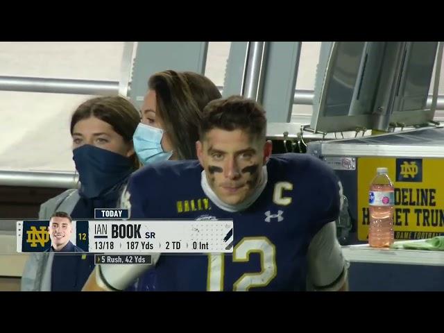 Boston College OL/Offense vs Notre Dame Defense (2020)