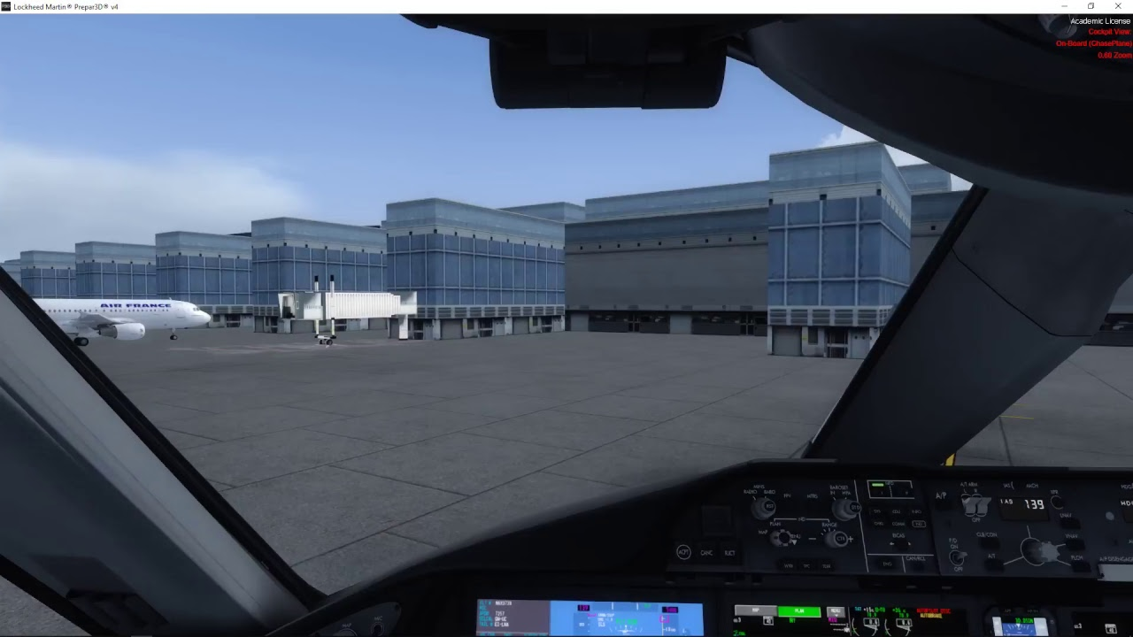 First Flight in QW 787 with ProATC