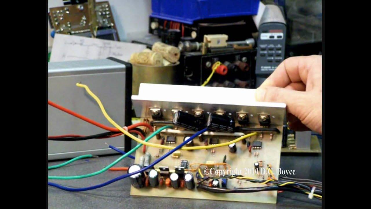 Electric Bike 3Phase BLDC Hub Motor Controller Home Build