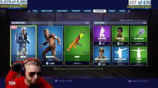 New Skin Fortnite item shop update 6/29/2 019 big foot, heist, doggo, whiplash, munitions expert